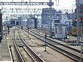 Tokaido Shinkansen lead track on Shinosaka station 01.jpg