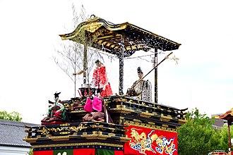 Karakuri puppet - Image: Tokugawaendashizoroe 5