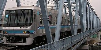Tōyō Rapid Railway Line - Image: Tokyometro 5 line 07 103F