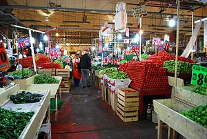 La Merced (neighborhood) - View inside part of the market
