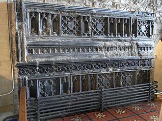 William Bourchier, 9th Baron FitzWarin - Image: Tomb Of Thomasine Hankford Bourchier Bampton Devon