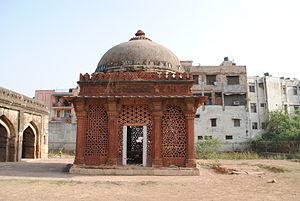 Malviya Nagar (Delhi) - 16th-century Tomb of  Sufi saint Sheikh Yusuf Qattal near Khirkee.