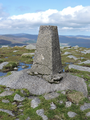 Tonelagee summit pillar.png