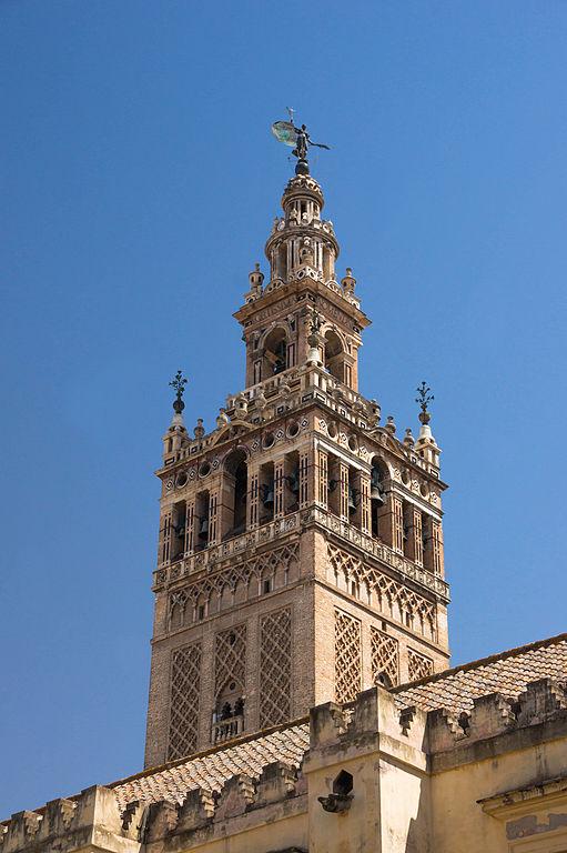 Minaret de la Giralda à Séville. Photo de Jebulon.