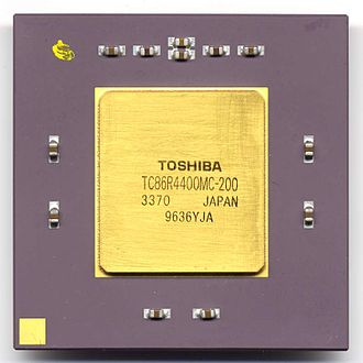 R4000 - An example of a R4400MC microprocessor fabricated by Toshiba