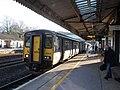 Totnes - GWR 150232+150219 Exeter service.JPG