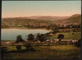 Town and lake, Bala, Wales-LCCN2001703413.tif