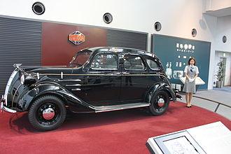 Toyota - Toyoda Standard Sedan AA 1936