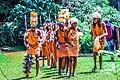Traditional Kikuyu Dancers lining up.jpg