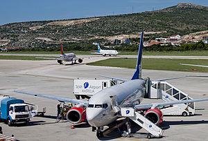 Split Airport - Ground handling at Split Airport