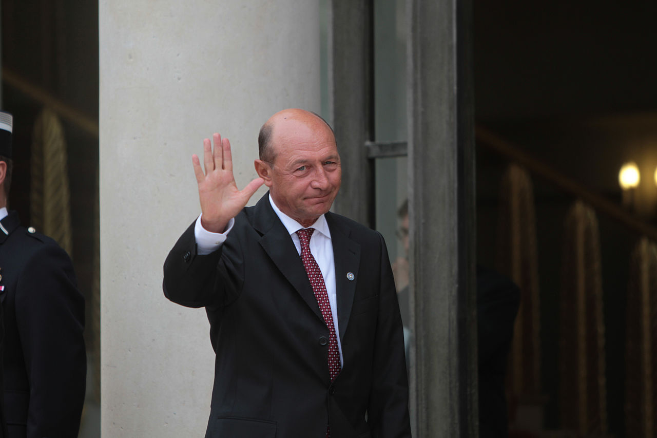 Traian At The International Conference Support Of New Libya Sescu