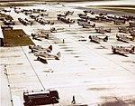 Training aircraft at Naval Air Station Miami, circa in 1942 (80-G-K-13386).jpg