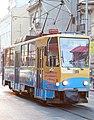 Tramway in Sofia in Alabin Street 2012 PD 047.jpg