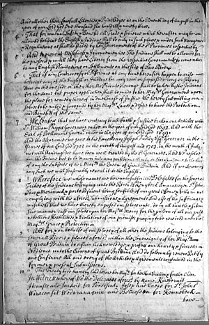 Treaty of Portsmouth (1713) - Image: Treaty of Portsmouth (1713) 2