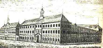 Tremé - Parish Prison, Tremé 1838