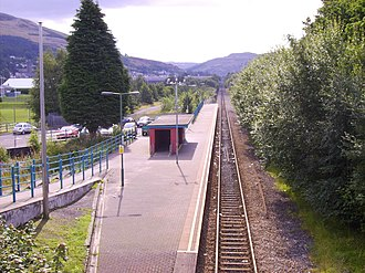 Treorchy railway station - Image: Treorchy Railway Station