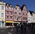 Trier Hauptmarkt Fachwerkhäuser BW 1.JPG