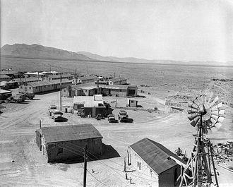Trinity (nuclear test) - The Trinity test base camp