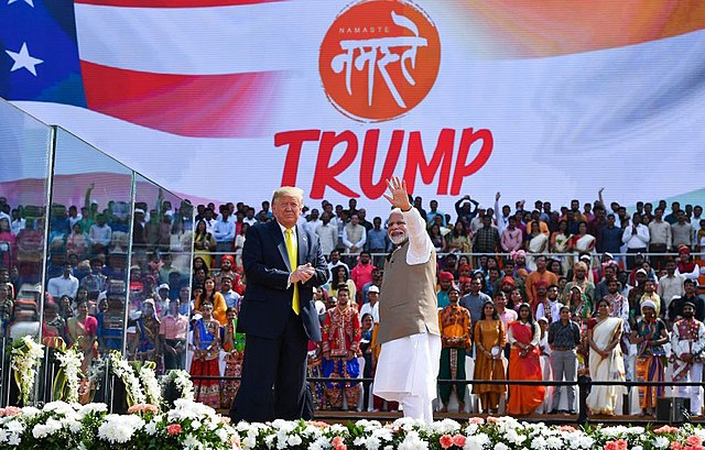 President Trump and India's Prime Minister Narendra Modi