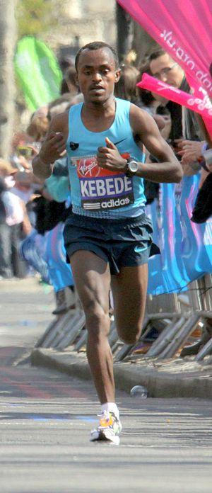 Tsegaye Kebede - Tsegaye Kebede, 2013 London Marathon