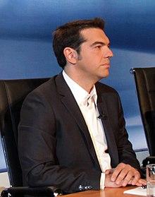 Alexis Tsipras, leader di SYRIZA dal 2008.
