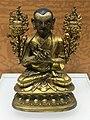 Tsongkhapa (Tsong-kha-pa 1357-1419) copper statue Qing era IMG 5871 Great Lama Temple Beijing - Jietai Building qianlong era temple treasures.jpg