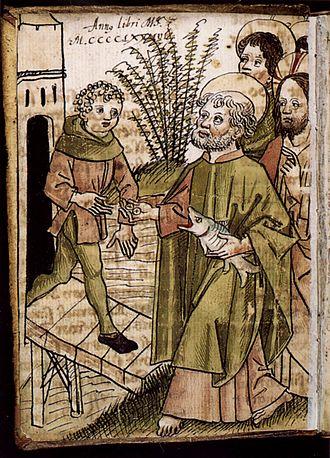 Matthew 17 - Image: Tuenger Facetie