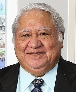 Tuilaepa Aiono Sailele Malielegaoi Prime Minister of Samoa