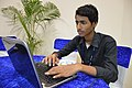 Tulsi Bhagat Studies Writing Mediawiki Bot in Python - Wiki Conference India - CGC - Mohali 2016-08-07 8401.JPG