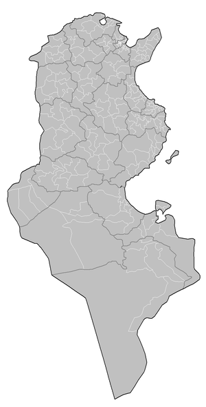Delegations of Tunisia - Delegations of Tunisia
