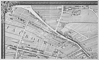 Turgot map of Paris - Image: Turgot map Paris KU 01