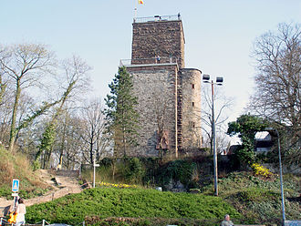 Durlach - The tower on the hill Turmberg