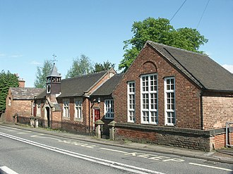 One of many Victorian village schools in Derbyshire Turnditch. - geograph.org.uk - 177283.jpg