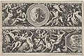 Two Designs for Friezes with Medallions, from- Frises, feuillages ou tritons marins antiques et modernes MET DP834192.jpg
