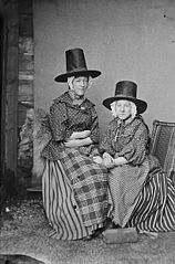 Two women in national dress (Maudry)