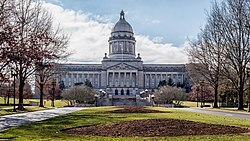 The Kentucky State Capitol is one of 45 sites in Frankfort listed on the National Register of Historic Places.