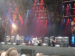 Gli UFO live al Wacken Open Air 2009.