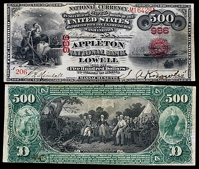 Art and engraving on United States banknotes