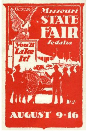 English: The Missouri State Fair at Sedalia, M...
