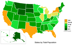 USA states population color map.PNG