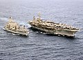 USS Constellation (CV-64) unrep with USNS Yukon.jpg