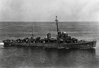 USS <i>Frost</i> (DE-144) Edsall-class destroyer escort (ship)