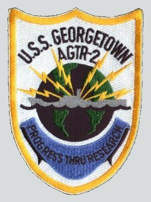 USS Georgetown (AG-165) - Image: USS Georgetown patch