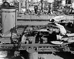 USS Indianapolis (CA-35) at the Mare Island Naval Shipyard on 19 April 1942 (19-N-29299).jpg
