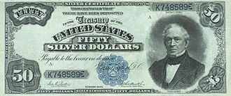 United States fifty-dollar bill - 1891 Silver Certificate