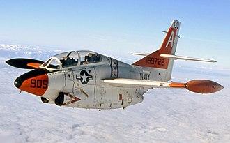 North American T-2 Buckeye - A T-2C Buckeye from VT-9