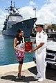 US Navy 080621-N-0879R-004 Yasmine Dar, host of the local TV show.jpg