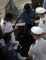 US Navy 090204-N-1655H-114 An international group of Sailors discuss the Africa Partnership Station (APS) 2009 training schedule in Dakar, Senegal.jpg