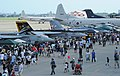 US Navy 110910-N-TO330-251 Visitors view aircraft along the flight line at Naval Air Facility Atsugi during a Centennial of Naval Aviation Friendsh.jpg