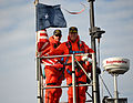 US Navy 120106-N-PN306-006 Rick Breckenridge and Dana Nelson 2012.jpg